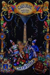 cartel carnaval Chipiona 2013