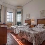 habitación doble con terraza
