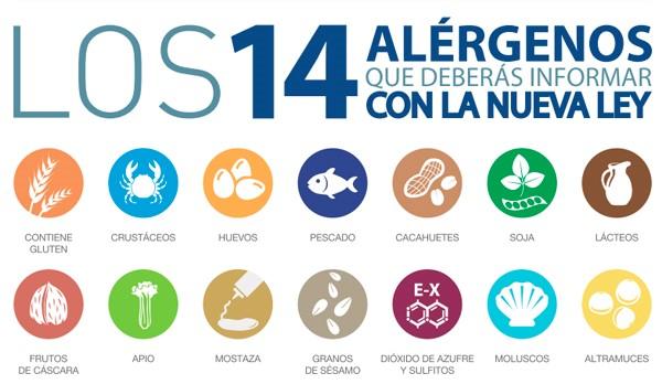 loa 14 alergenos