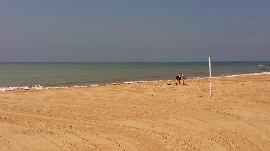 la playa para ti sólo
